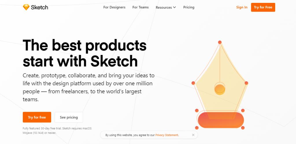 Sketch - Professional Web Design Software Tools